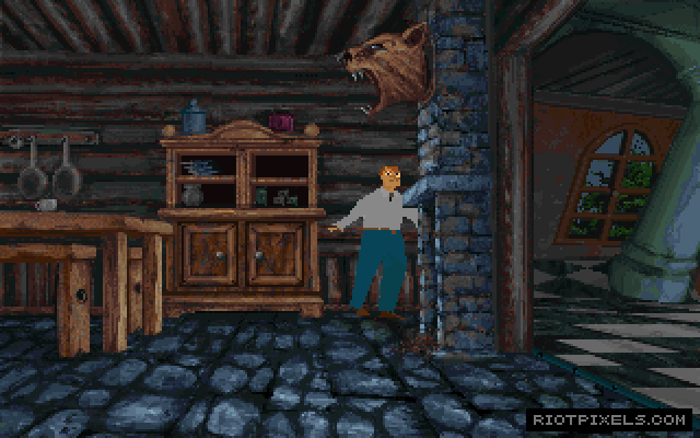 Alone In The Dark 3 Game Screenshots At Riot Pixels Images