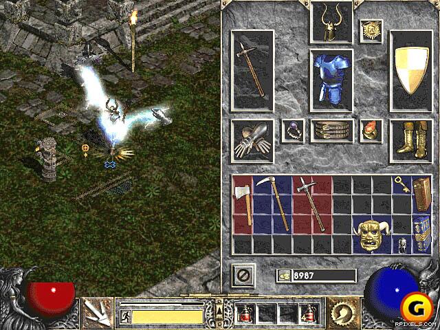 Diablo 3, скачать diablo 2 LoD, diablo ii, Lord of.