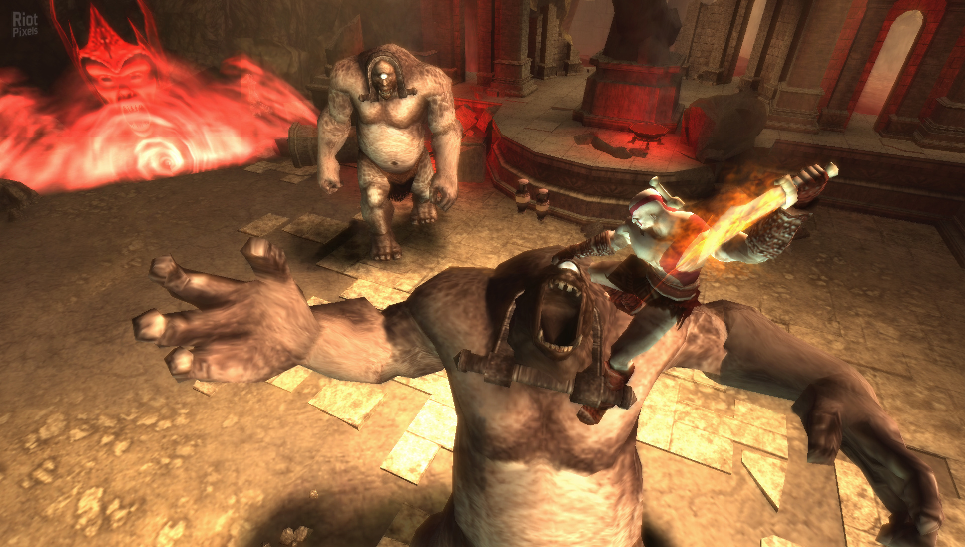 God of war 3 chains of olympus psp download