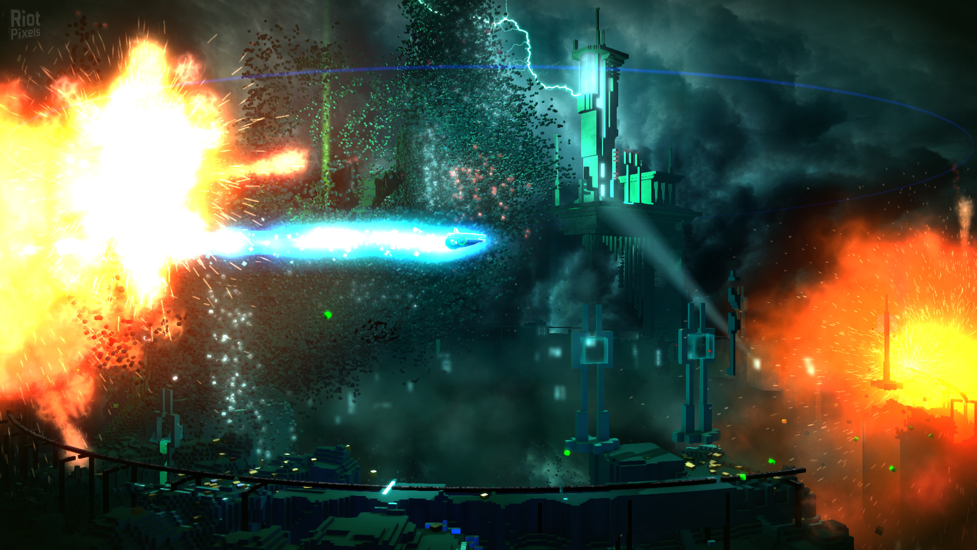 Resogun [USA] [2013|Eng]