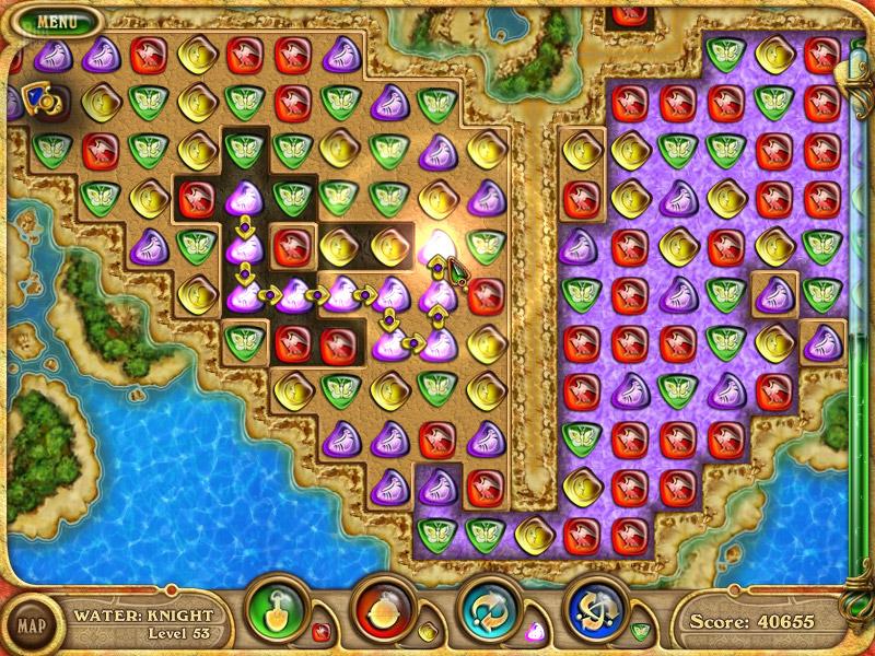 Красочная игра 4 Элемента выполнена в самых различных жанрах. . Квес