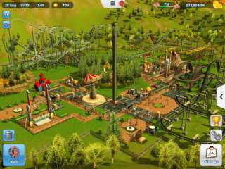 RollerCoaster Tycoon 3 - game screenshots at Riot Pixels, images