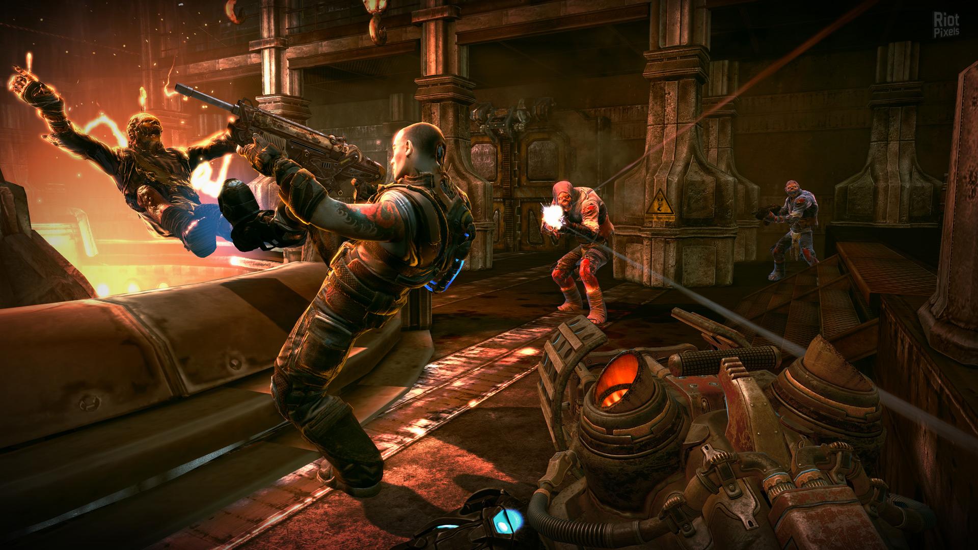 Обои 2011, bulletstorm, game. Игры foto 17