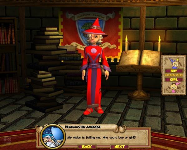 Wizard101 - game screenshots at Riot Pixels, images
