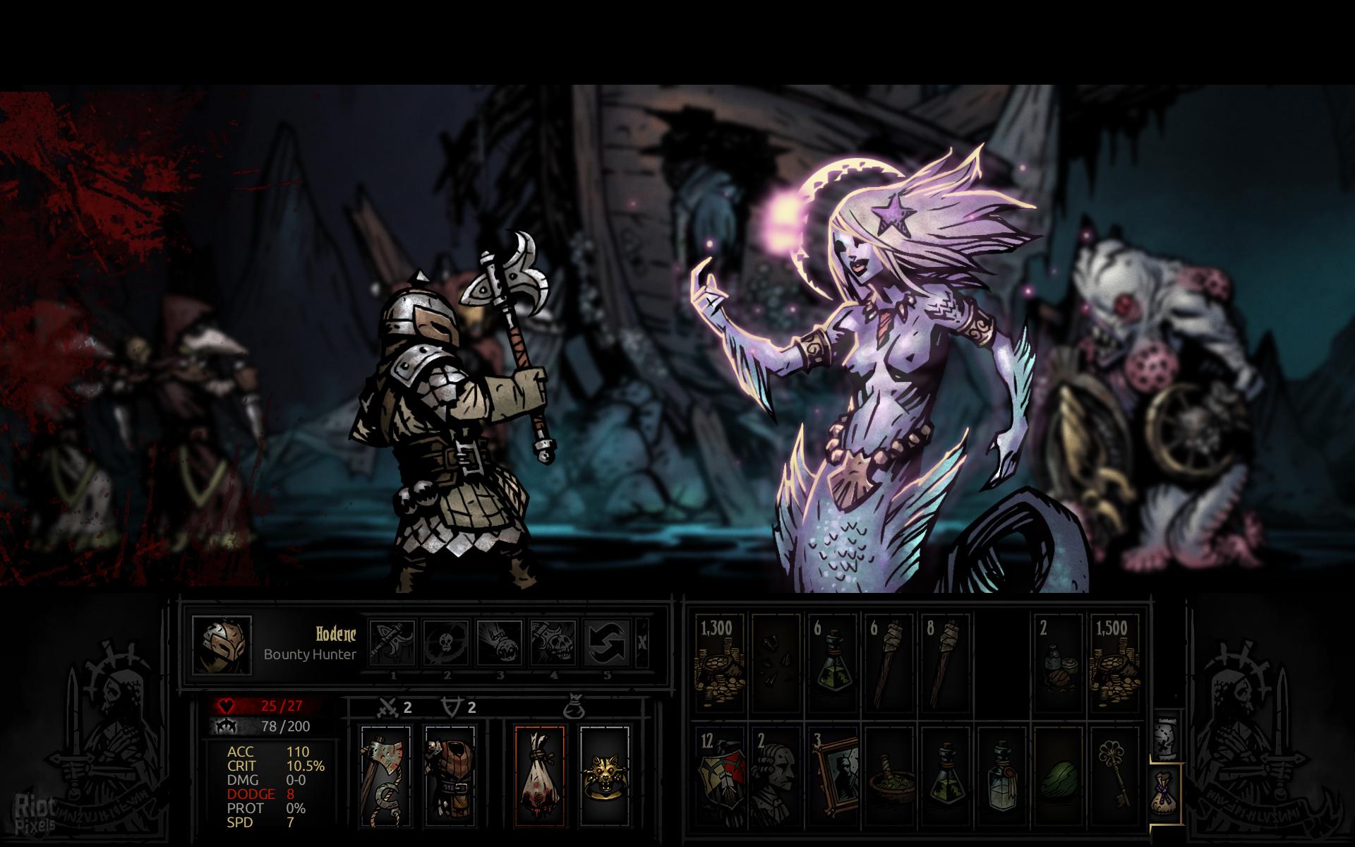 Darkest dungeon как надеть артефакт