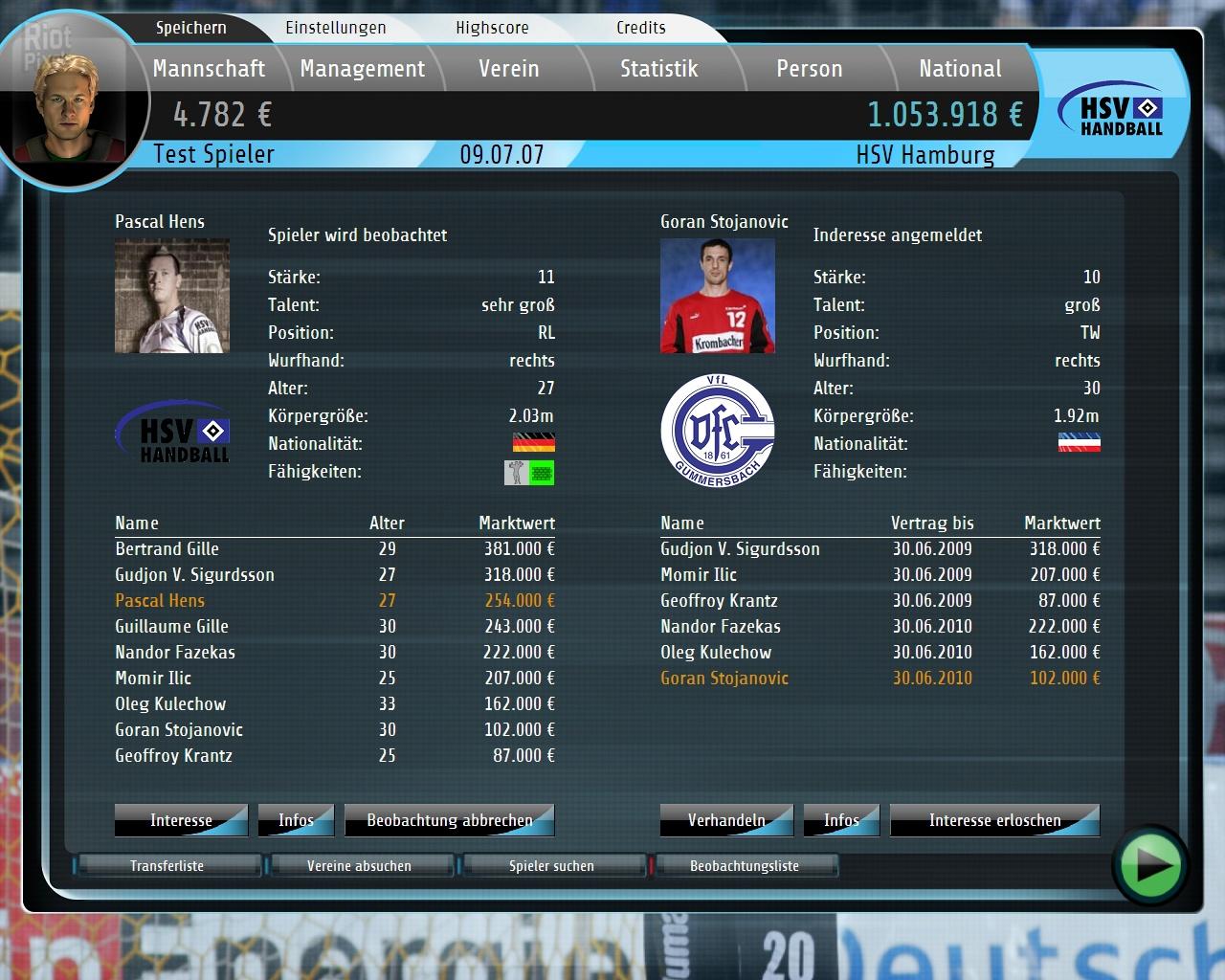 Handball Manager 2009: World Edition