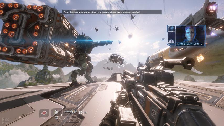 Смотреть прохождение игры titanfall 2