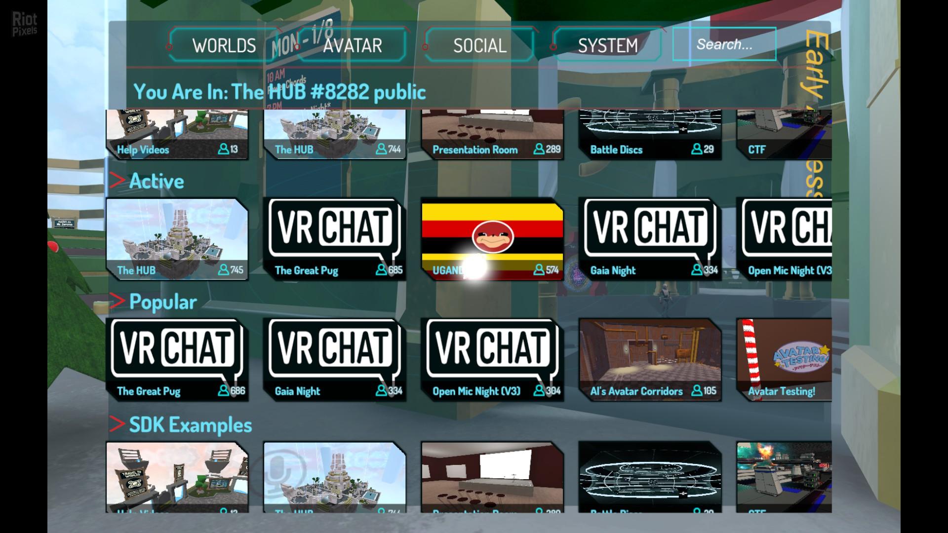 VRChat - game screenshots at Riot Pixels, images