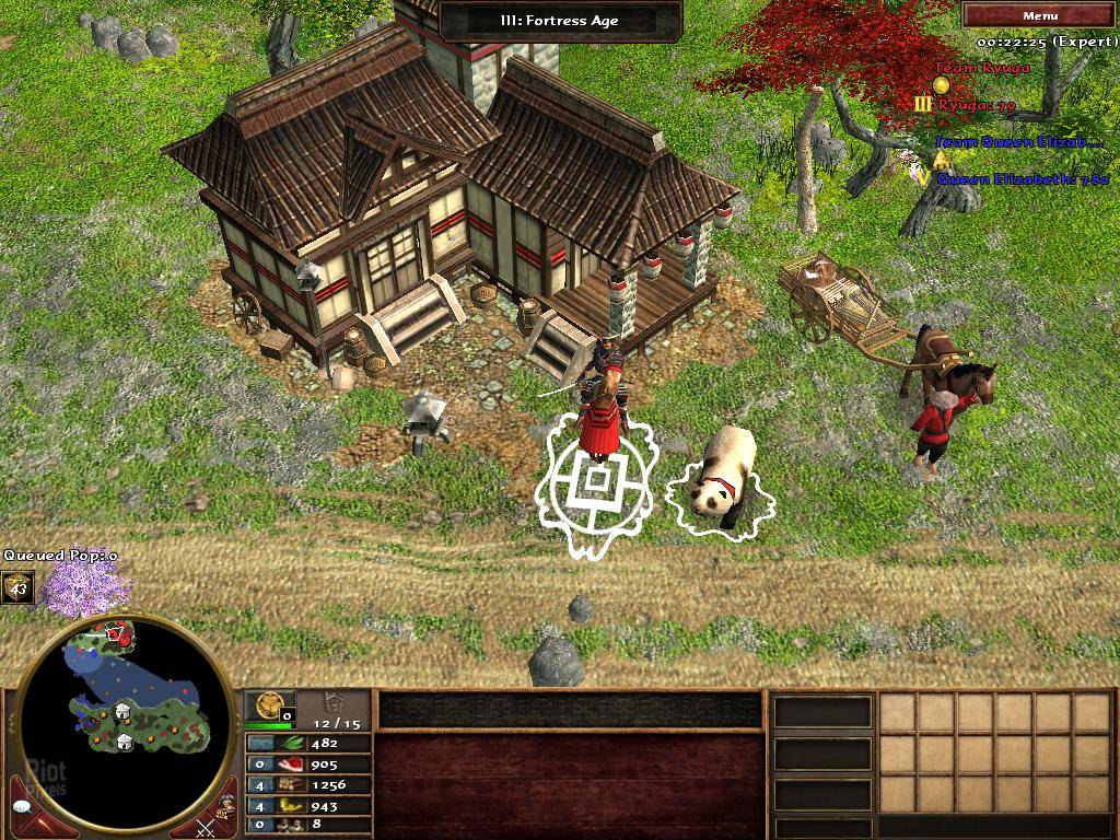 Age of empire3 asian dynasties just