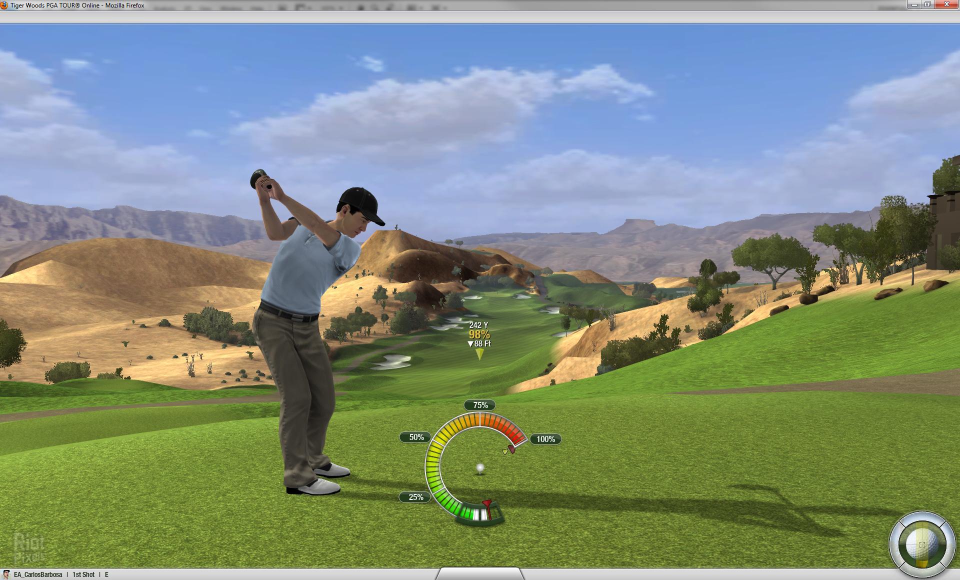 Tiger Online Woods