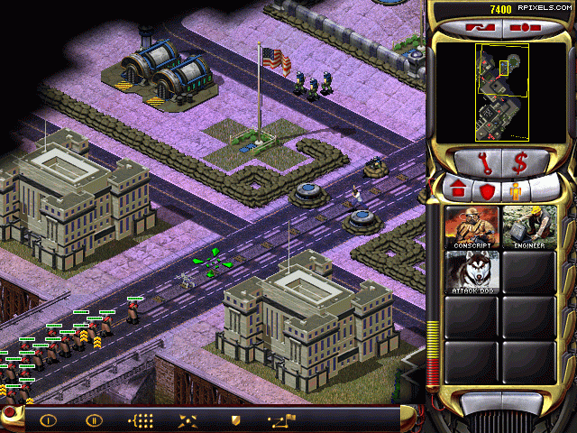 Последние обновления в галереях Command & Conquer: Red Alert 2.