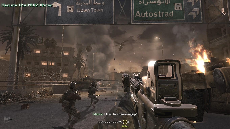 Call of Duty 4: Modern Warfare.