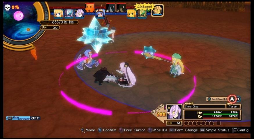 Mugen Souls - game screenshots at Riot Pixels, images