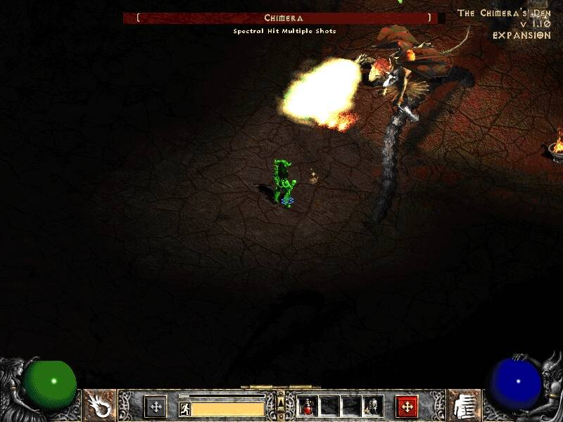 Diablo II: Lord of Destruction - кадр из игры 18.