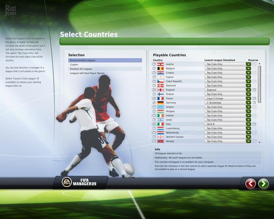 Last chaos скачать бота. FIFA Manager 09 - дата выхода, скачать бесплатно