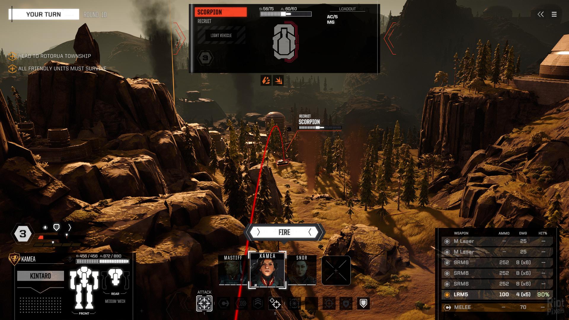 BattleTech - game screenshots at Riot Pixels, images