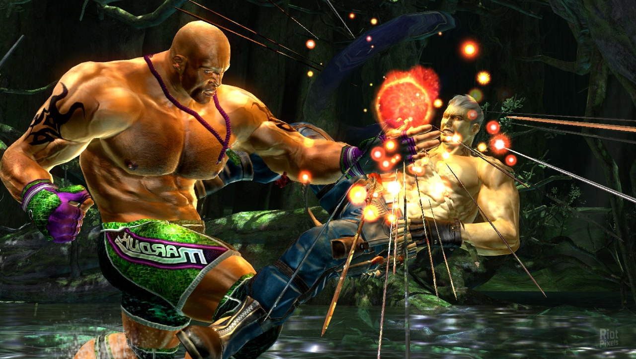Eddy (in arena) - beat him in tekken force 4th special forces operation