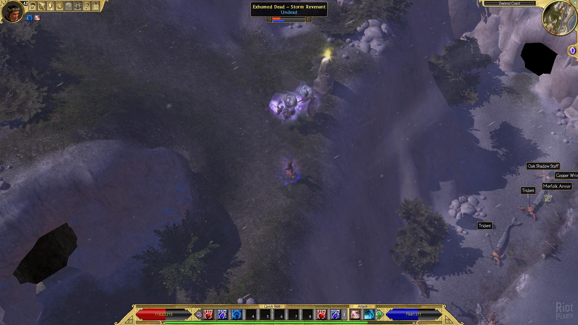 Titan Quest: Ragnarök - game screenshots at Riot Pixels, images