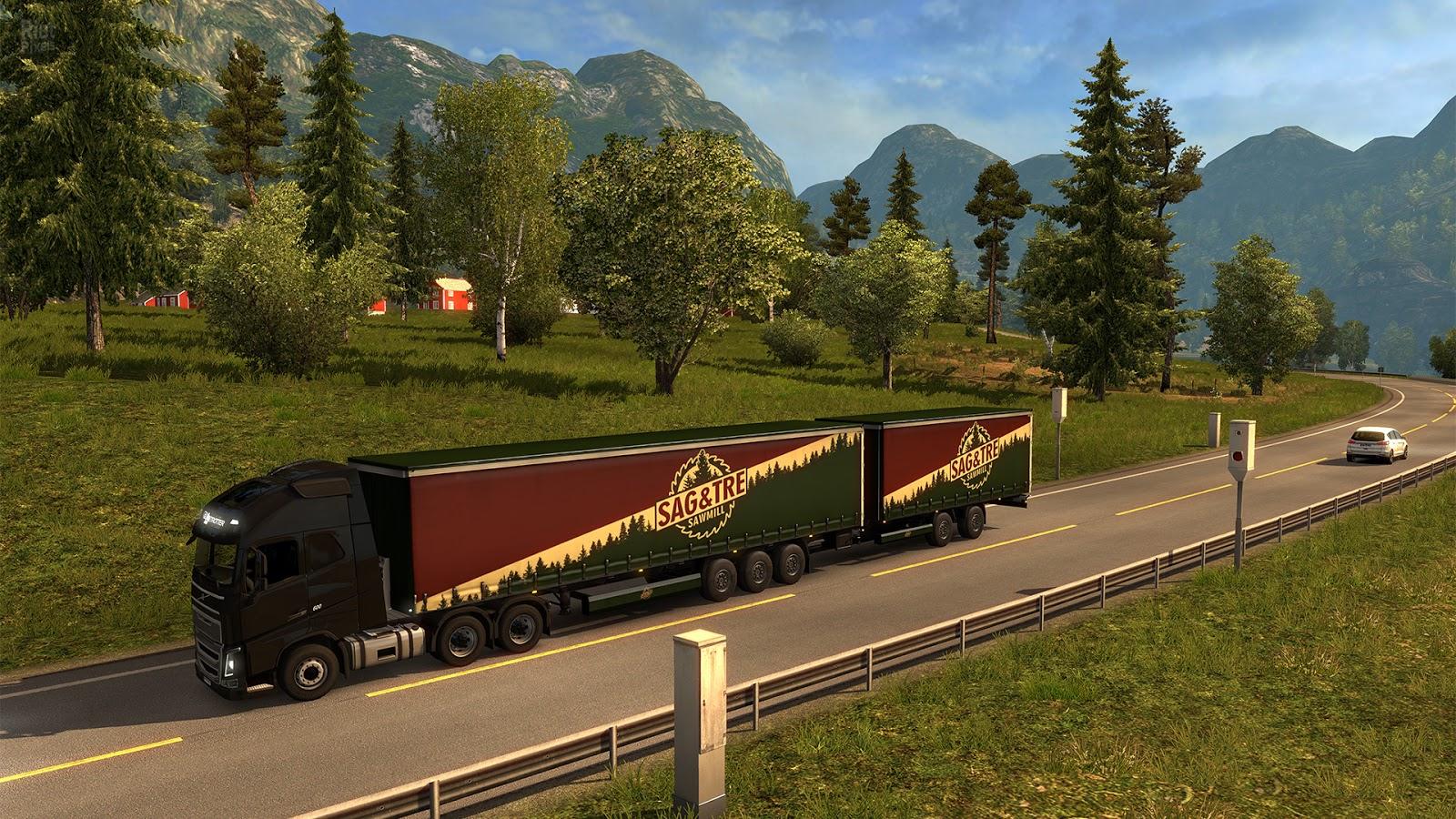 Как сделать что в euro truck simulator 2