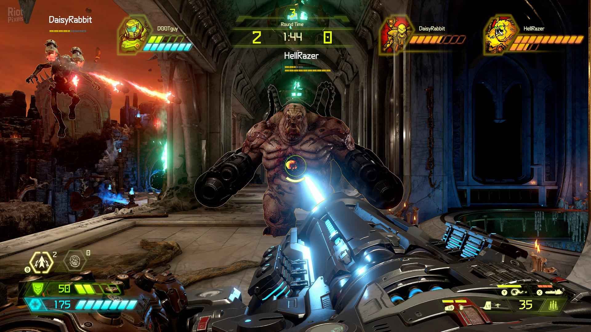 Doom Eternal - game screenshots at Riot Pixels, images
