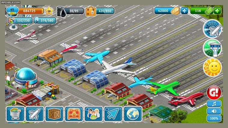 Airport City - game screenshots at Riot Pixels, images