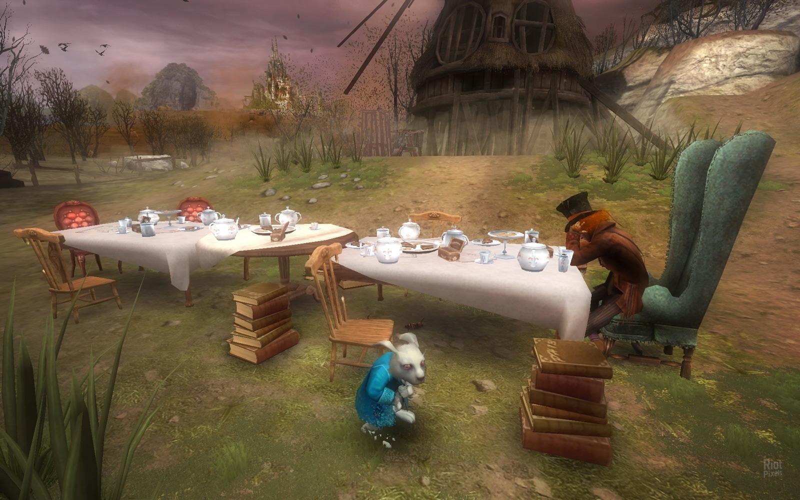 Игра Про Алису В Стране Чудес
