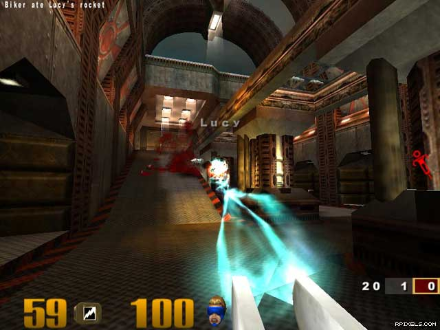 Quake 3 (Quake III Arena) (OSP, ProMode, SpiterBot mods) , картинка номер 4