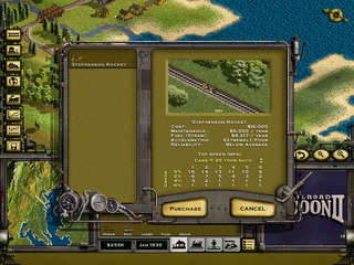 Railroad Tycoon 2 - game screenshots at Riot Pixels, images