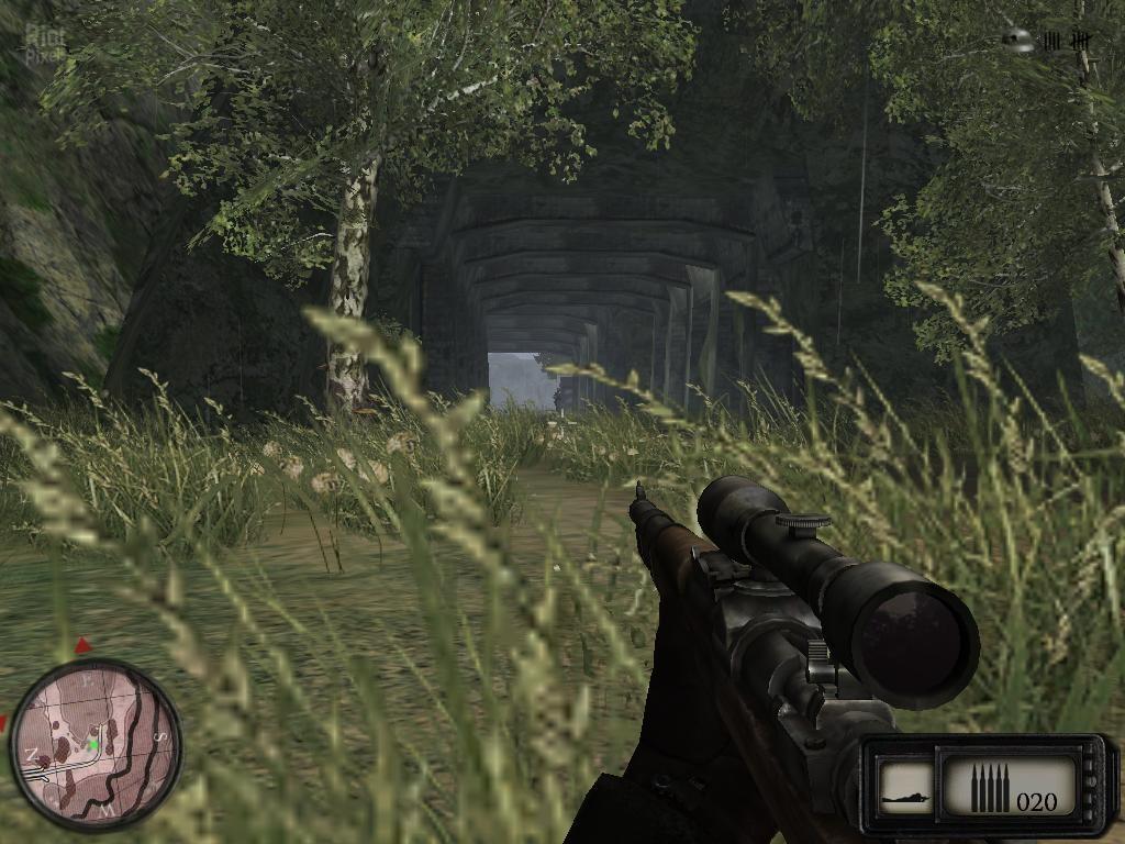 Текущий показываемый скриншот из игры strong em Sniper: Art of Victory/em/s