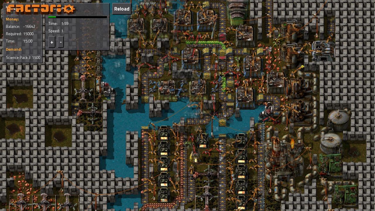 Factorio - game screenshots at Riot Pixels, images