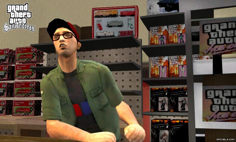 Интересные факты GTA San Andreas. В директории txd можно найти некоторые ф