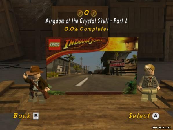 Game Indiana Jones Adventure World