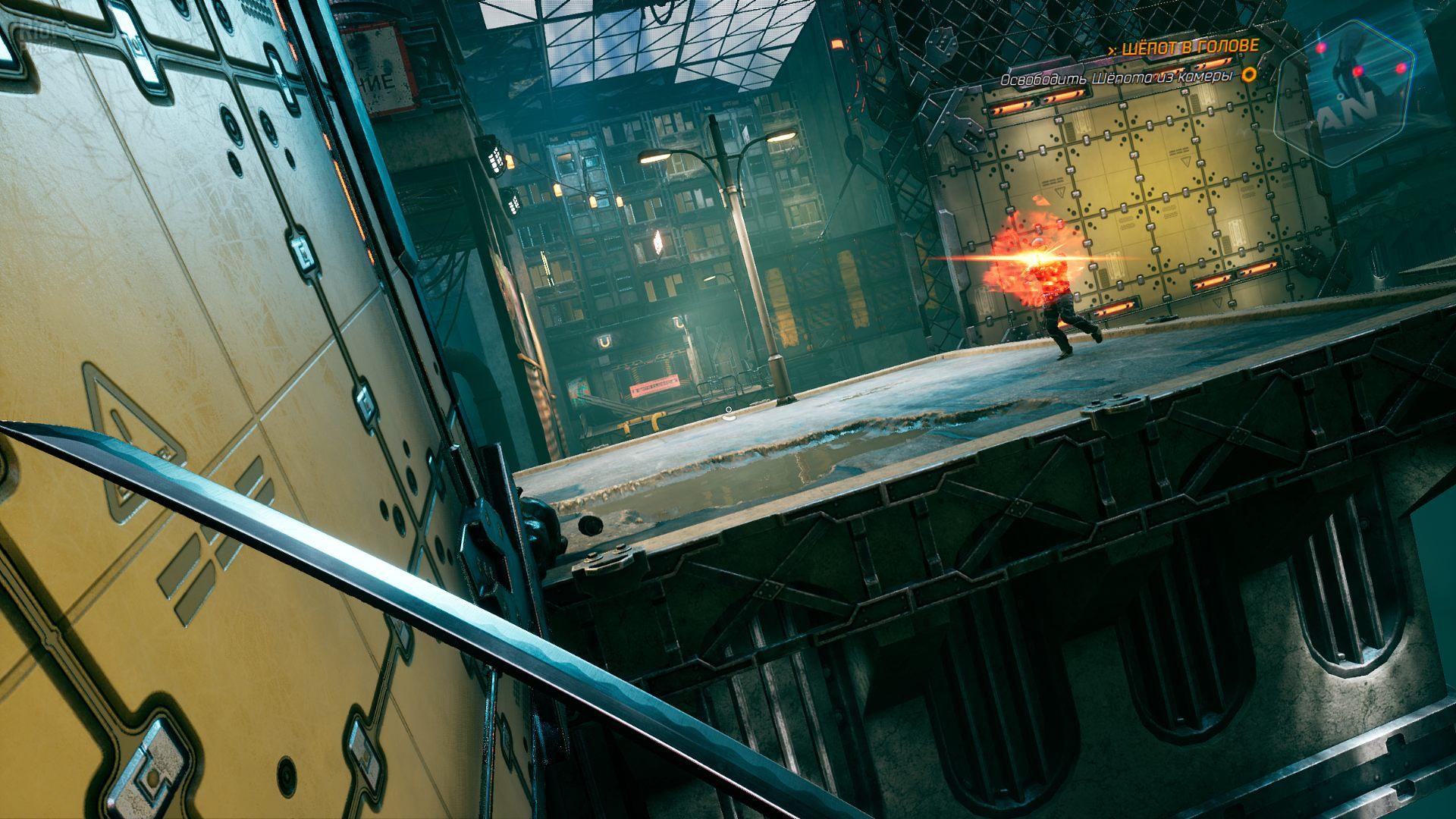 Ghostrunner - game screenshots at Riot Pixels, images