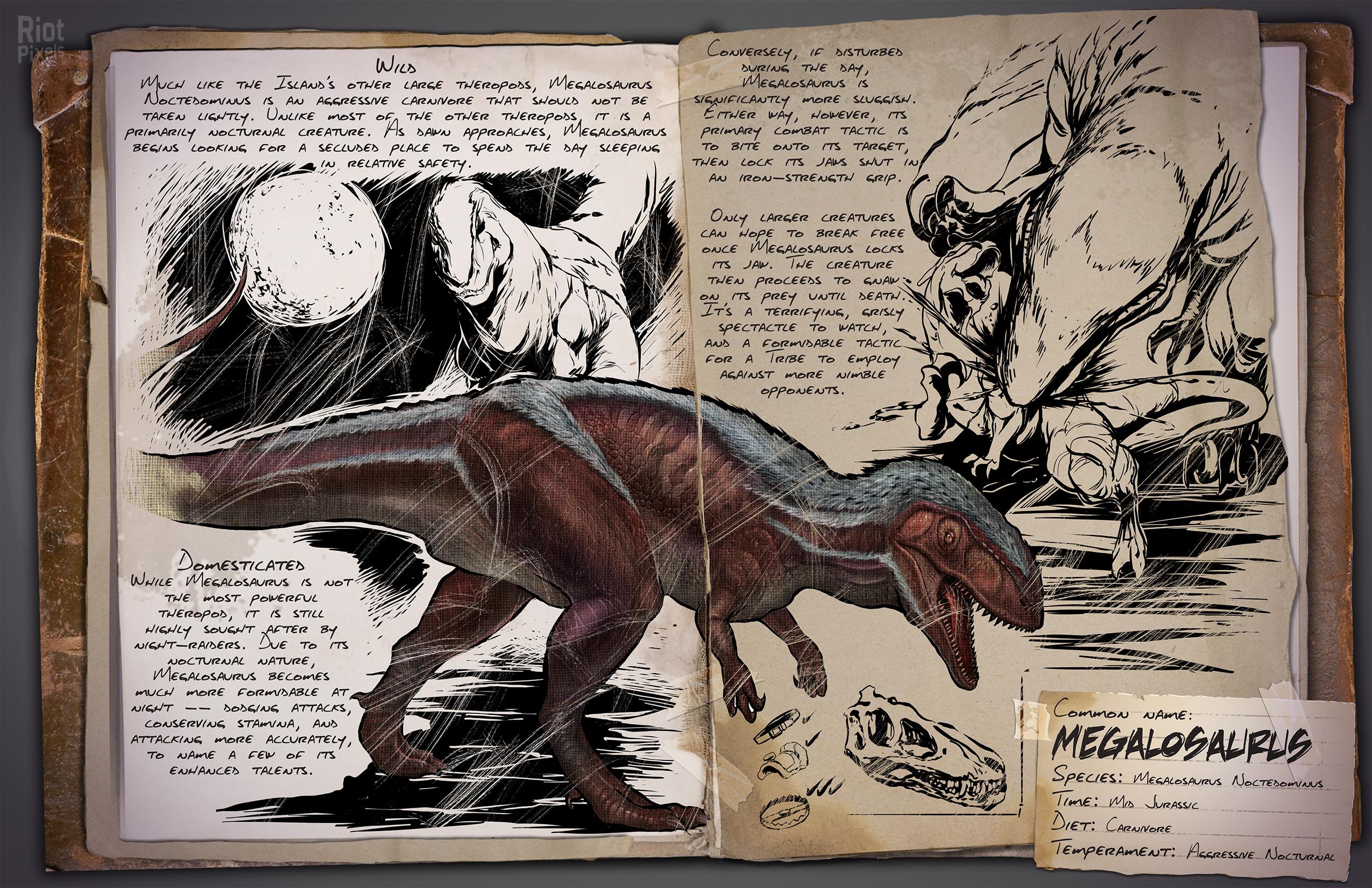 Ark: Survival Evolved - game artworks at Riot Pixels