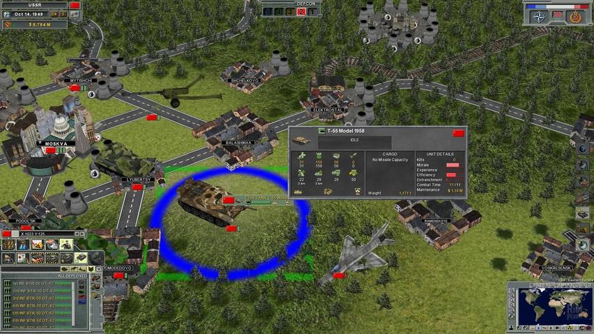 Патч для Supreme Ruler: Cold War версии v.7.2.2 Небольшое исправлени