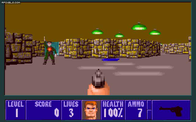 Wolfenstein 3D - скриншоты, обои и постеры на Games.3Movie.net скачать чере