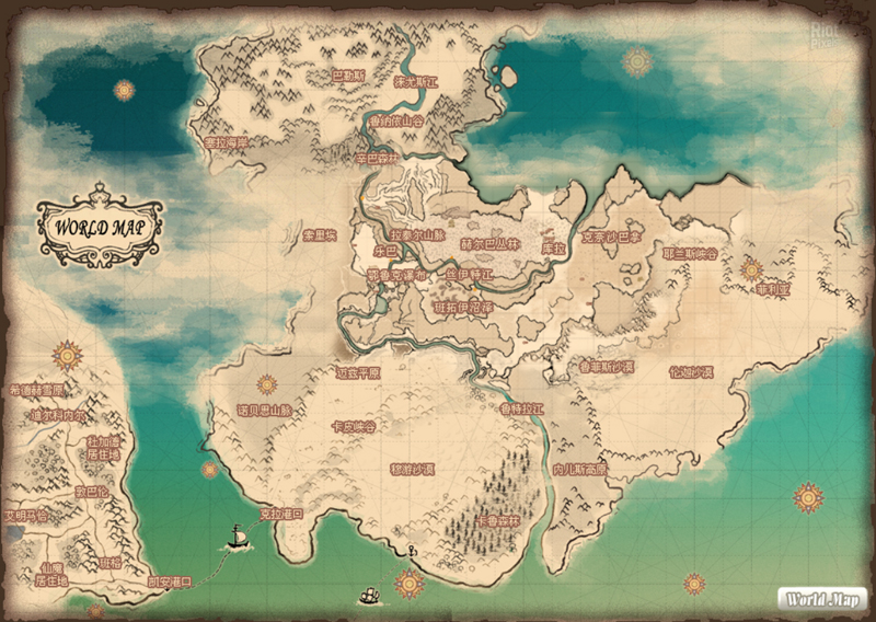 Mabinogi World Map.Mabinogi Game Screenshots At Riot Pixels Images
