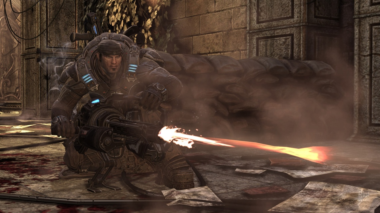Gears of War 2 Game of the Year Edition [2008|Rus]