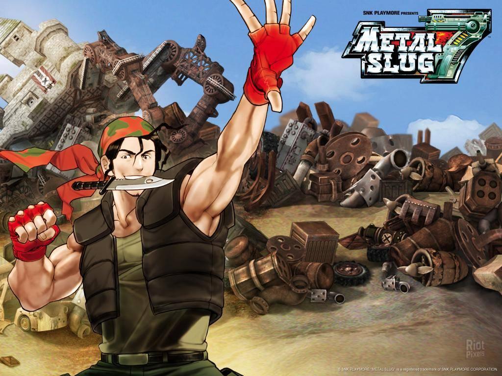 Metal Slug 7 Fonds Decran Au Riot Pixels