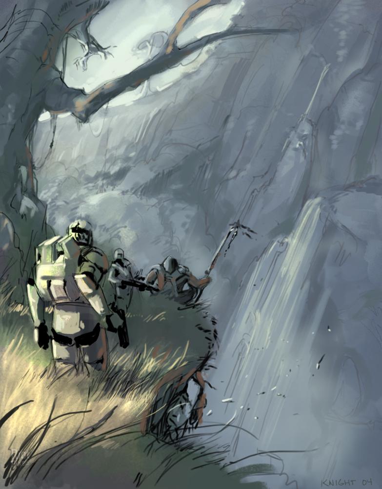 Star Wars Republic Commando Game Artworks At Riot Pixels