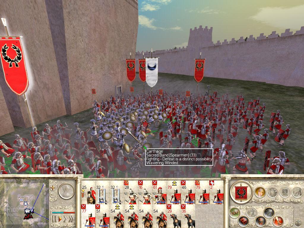 Как сделать на весь экран рим тотал вар