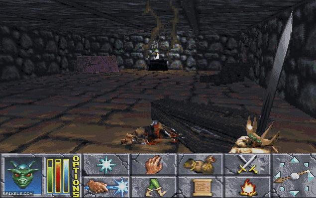 Elder Scrolls Chapter 2: Daggerfall, The - game screenshots at Riot