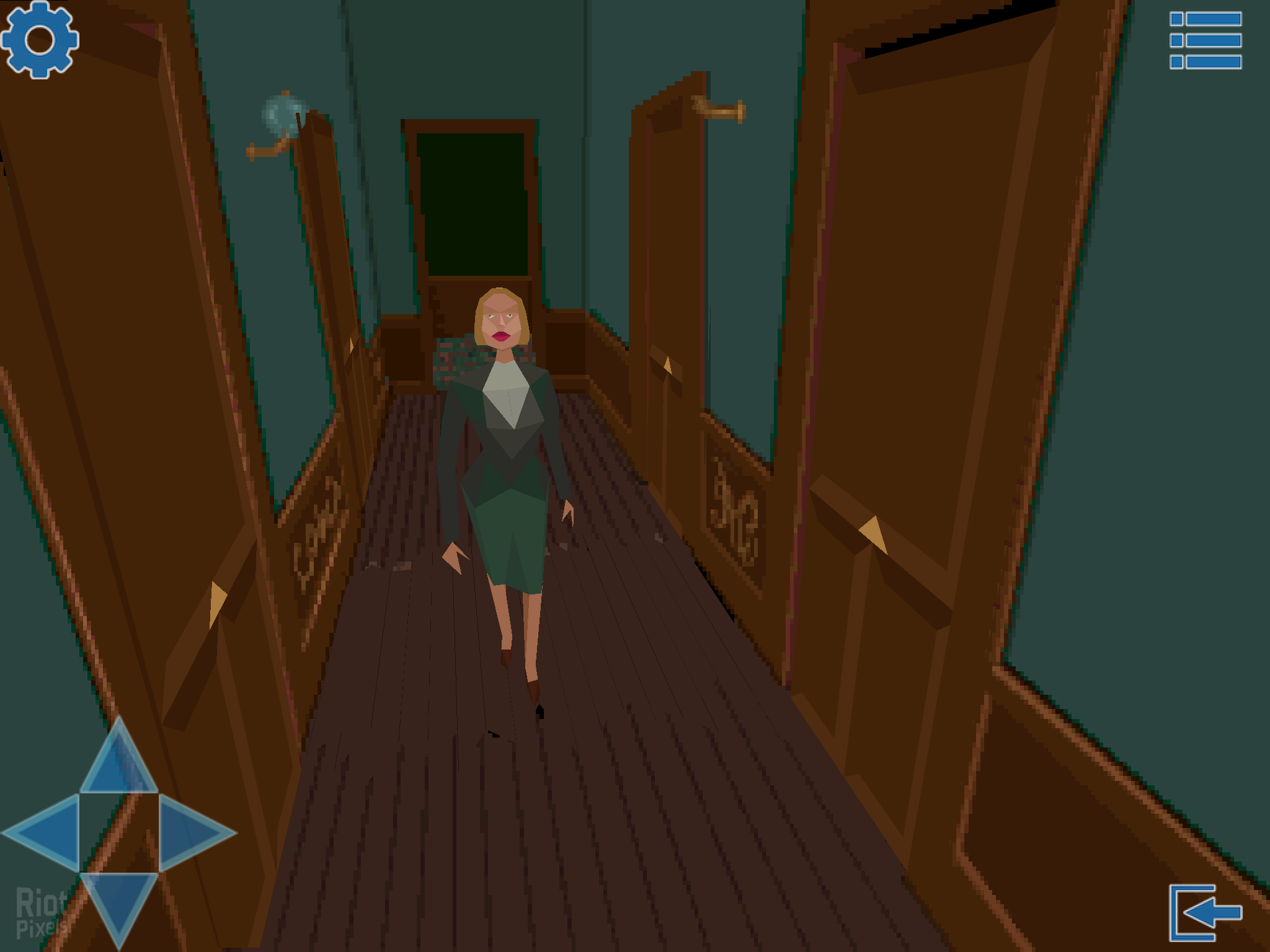 Alone In The Dark I 1992 Game Screenshots At Riot Pixels Images