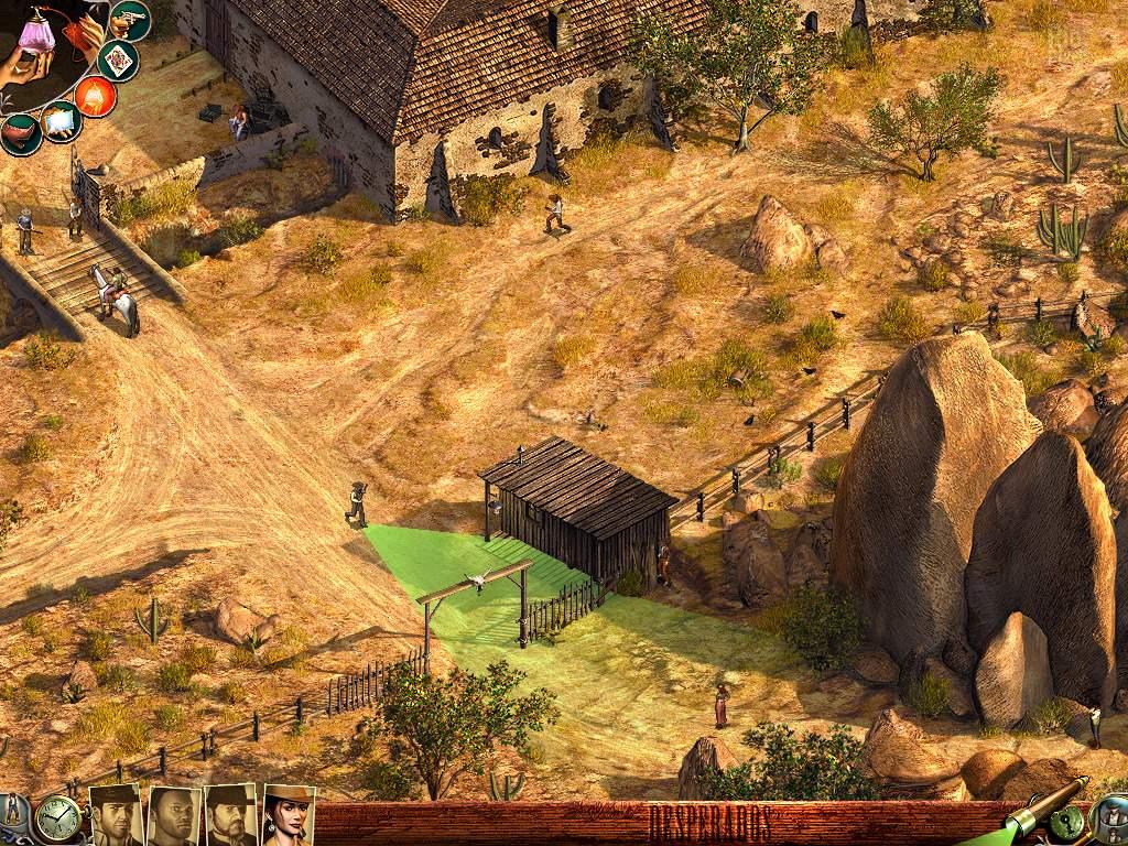 Desperados Wanted Dead Or Alive Game Screenshots At Riot Pixels Images