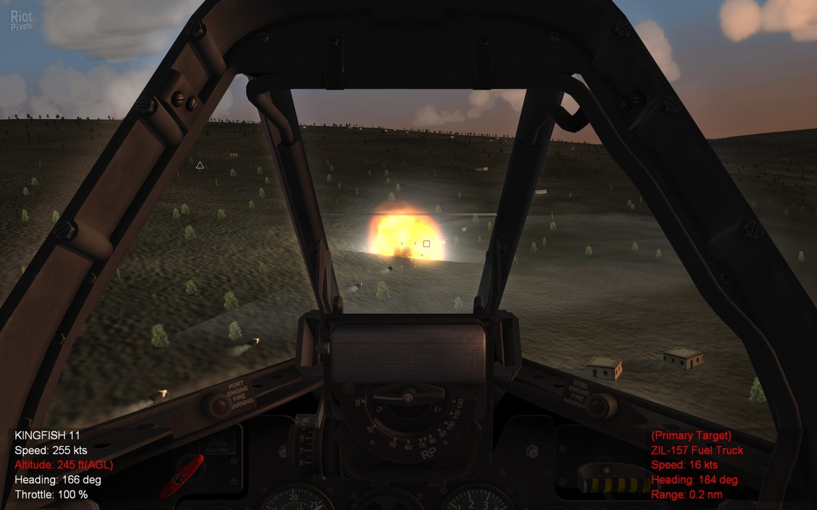 Strike Fighters 2 Expansion Pack 1 - game screenshots at