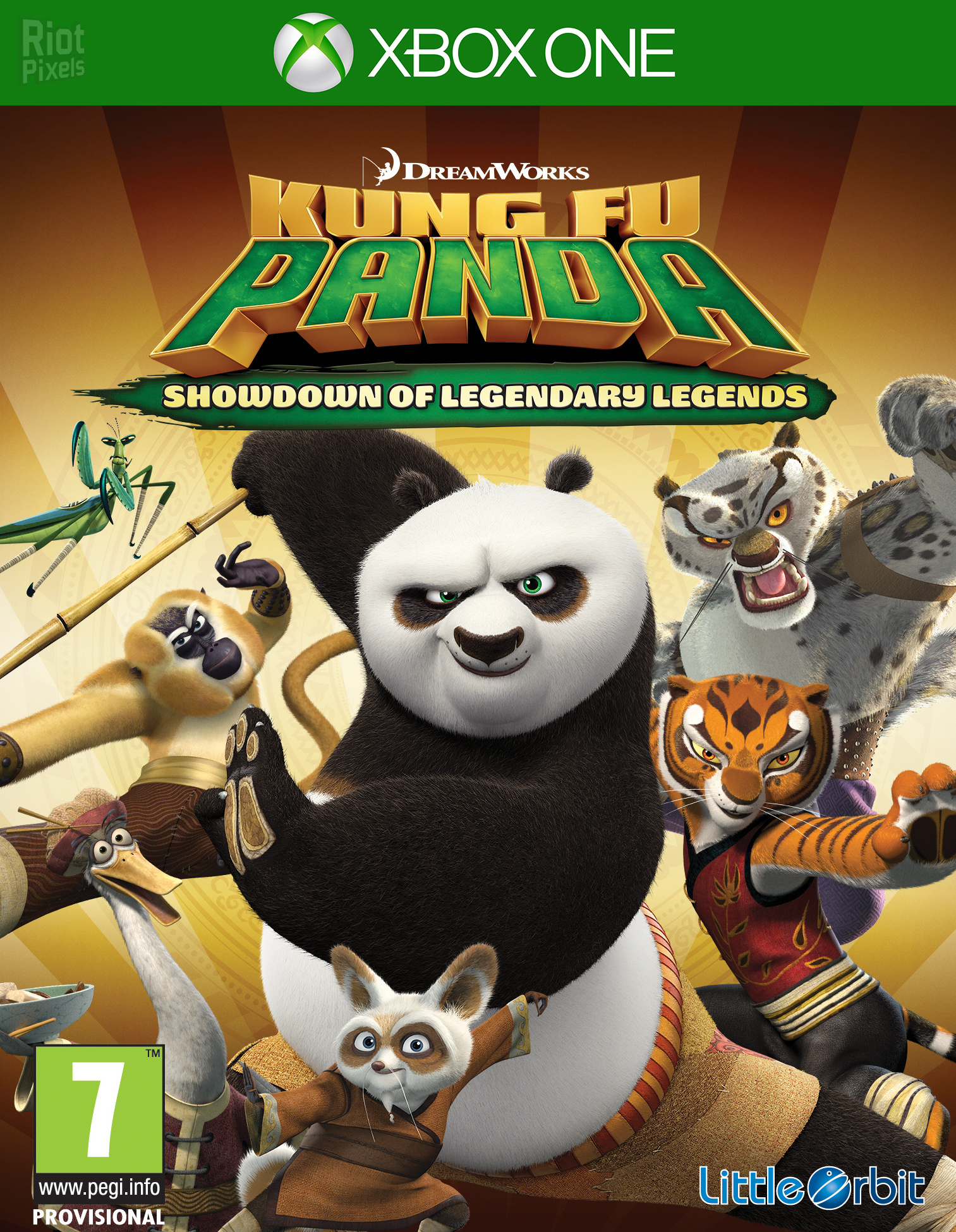Скачать KUNG FU PANDA: SHOWDOWN (2015) XBOX 360 торрент