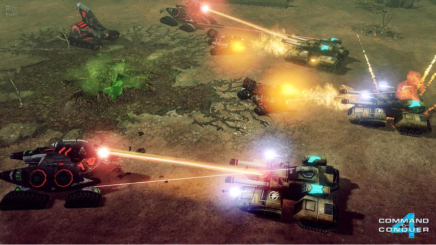 Используйте следующие ссылки для вставки скриншота Command & Conquer 4: