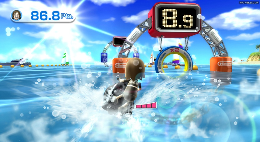 Wii Sports Resort - game screenshots at Riot Pixels, images
