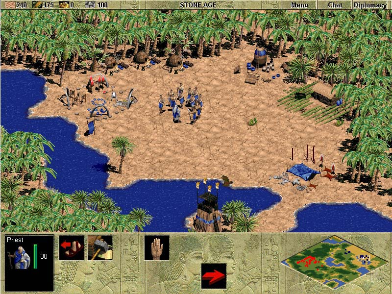 age of empires 1 full version  free games