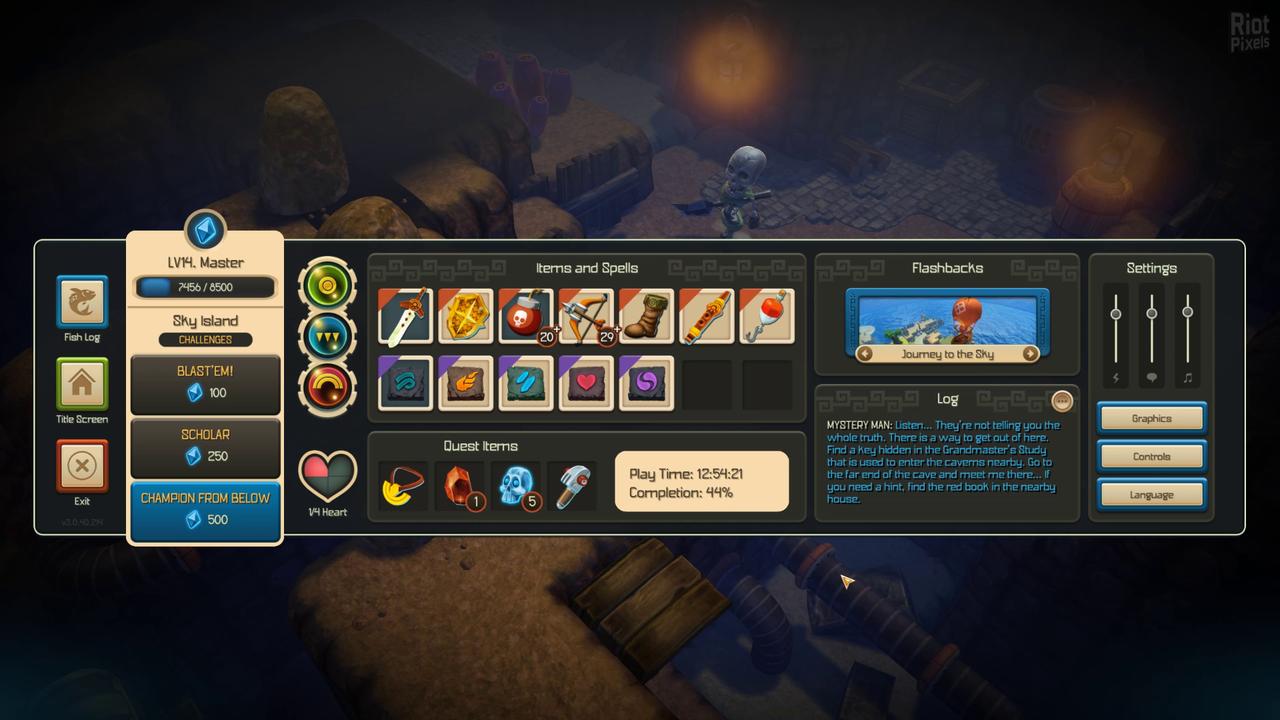 Oceanhorn: Monster of Uncharted Seas - скачать бесплатно торрент
